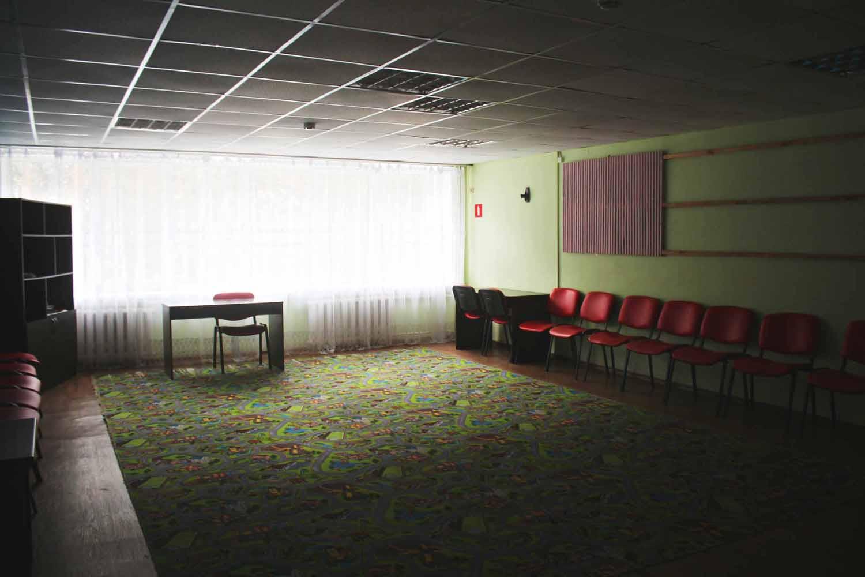 Холл с ковром